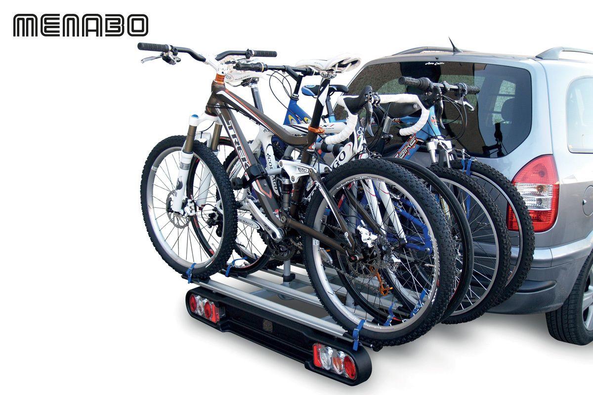 Nosič pro 4 kola na tažné zařízení RACE 4, MENABO