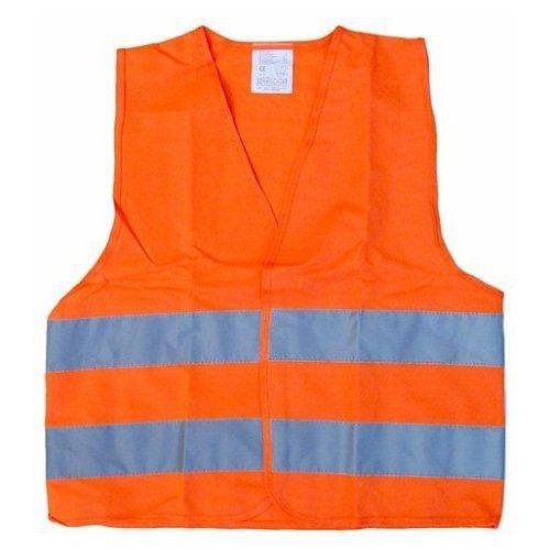 Vesta výstražná oranžová dětská, COMPASS