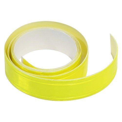 Samolepící páska reflexní 2cm x 90cm, žlutá