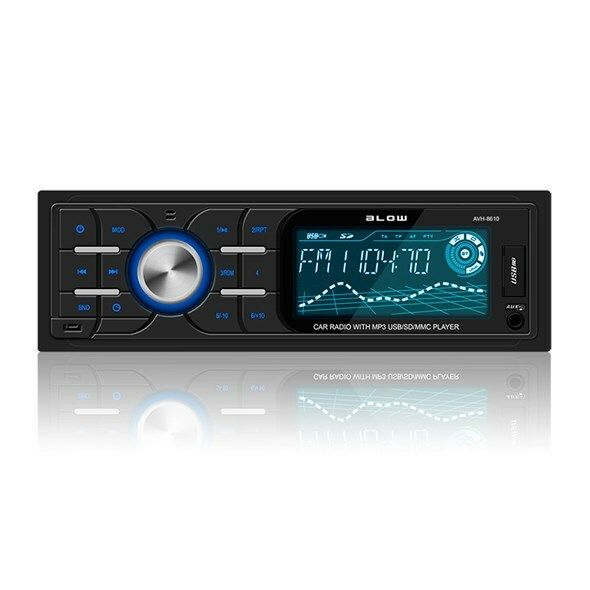 Autorádio BLOW AVH-8610 MP3, USB, SD, MMC, FM