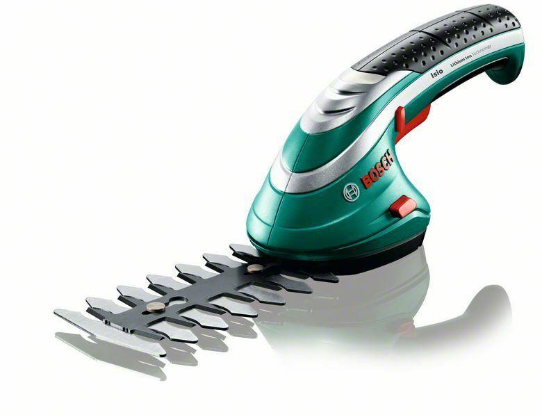 Akumulátorové nůžky na keře Bosch Isio, 0600833101