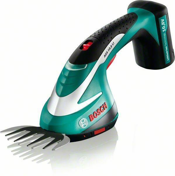 Akumulátorové nůžky na trávu Bosch AGS 10,8 LI, 0600856100 - 1x použito