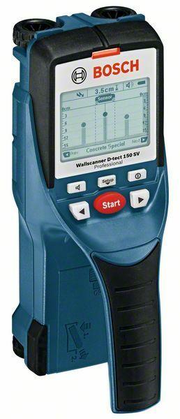 Detektor Bosch Wallscanner D-tect 150 SV Professional, 0601010008