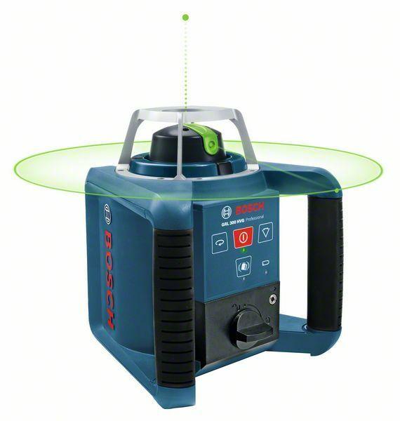 Rotační laser Bosch GRL 300 HVG + přijímač Professional, 0601061701