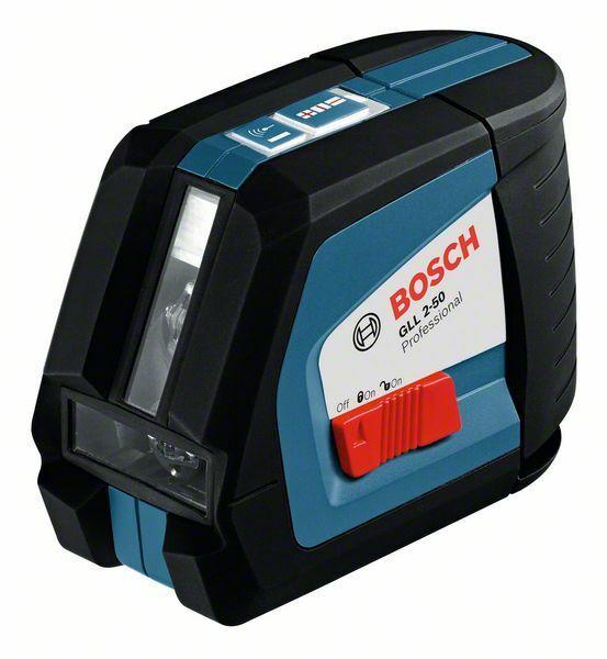 Čárový laser Bosch GLL 2-50 Professional, 0601063104