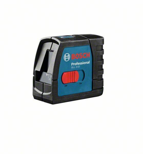 Čárový laser Bosch GLL 2-15 + stavební stativ BT 150 Professional, 06159940DW