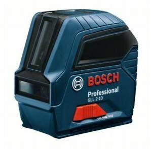Křížový čárový laser Bosch GLL 2-10 Professional + stativ BT 150, 06159940JC