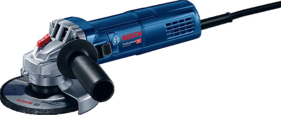 Úhlová bruska Bosch GWS 9-125 Professional, 0601396007