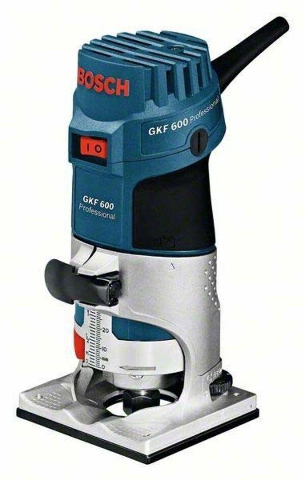 Hranová frézka Bosch GKF 600 Professional, 060160A100 - předváděcí kus