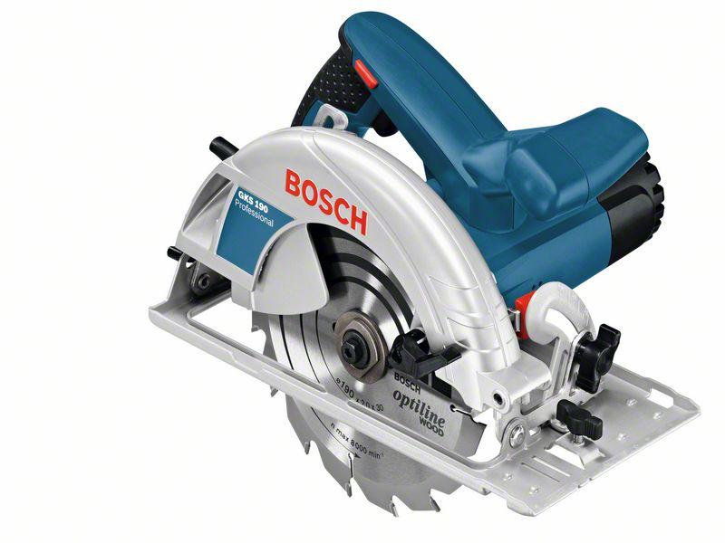 Ruční kotoučová pila, 1400W, Bosch GKS 190, 0601623000
