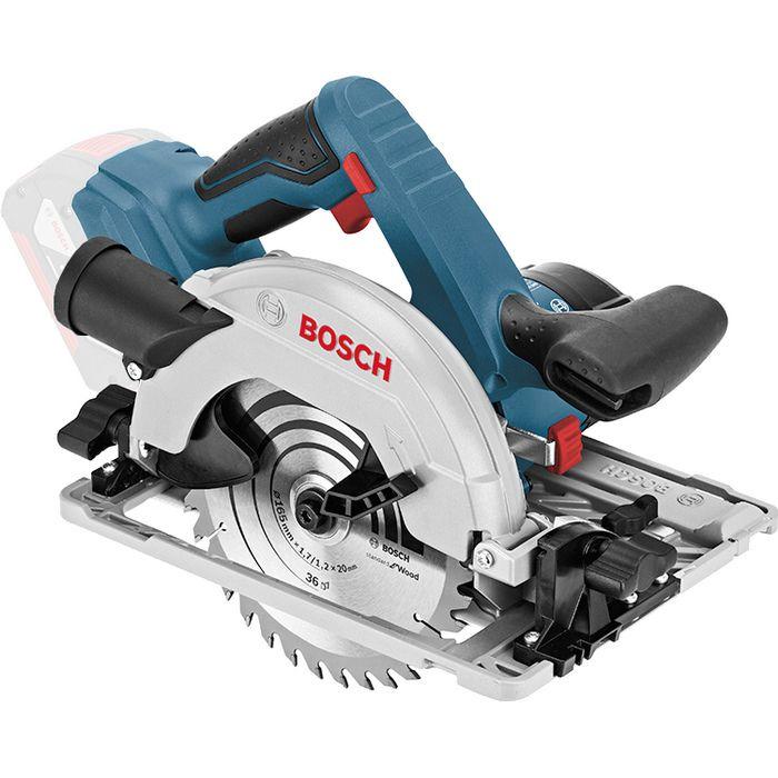 Aku okružní pila Bosch GKS 18V-57G Professional (bez aku a nabíječky), L-BOXX, 06016A2101