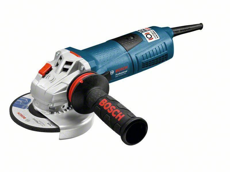 Malá úhlová bruska Bosch GWS 13-125 CIEX Professional, 1.300 W, 060179F106