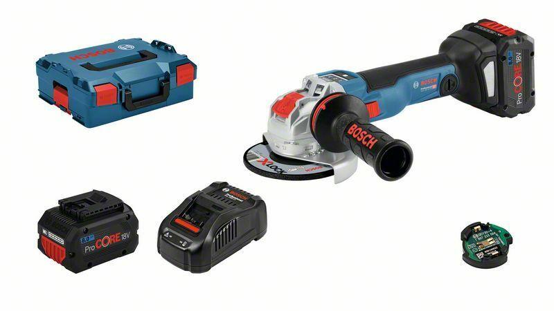 Aku úhlová bruska Bosch GWX 18V-10 SC Professional, 06017B0401