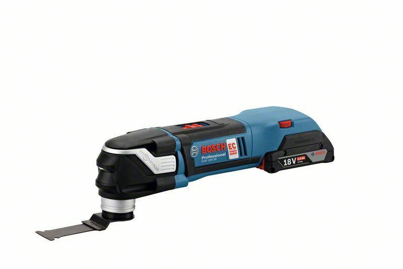 Aku multifunkční nářadí Bosch GOP 18 V-28 Professional, bez baterie, karton, 06018B6002
