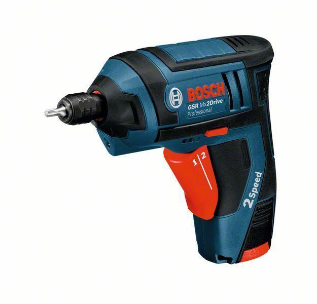 Aku vrtací šroubovák Bosch GSR Mx2Drive Professional, 06019A2100