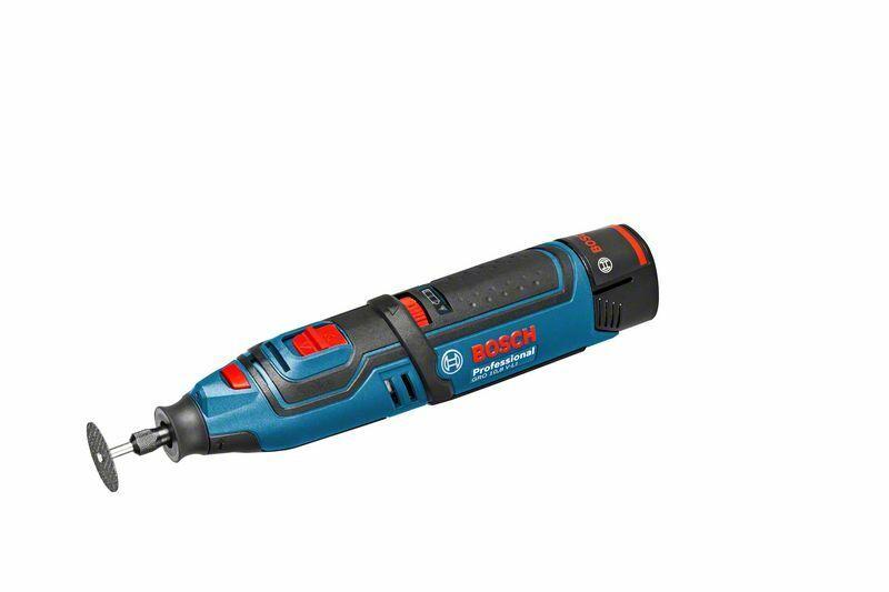 Multifunkční rotační nářadí Bosch GRO 12 V-35 Profess. (baterie, nabíječka), 06019C5001