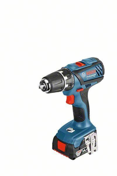 Aku vrtací šroubovák Bosch GSR 14,4-2-LI Plus (4,0 Ah) Professional, 06019E6021