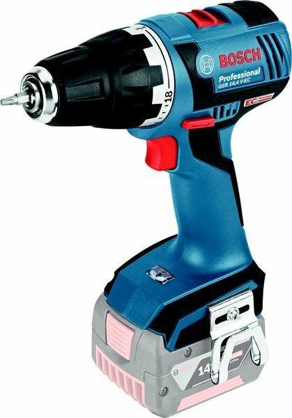 Aku vrtací šroubovák Bosch GSR 14,4 V-EC Professional - bez baterie, 06019E8000
