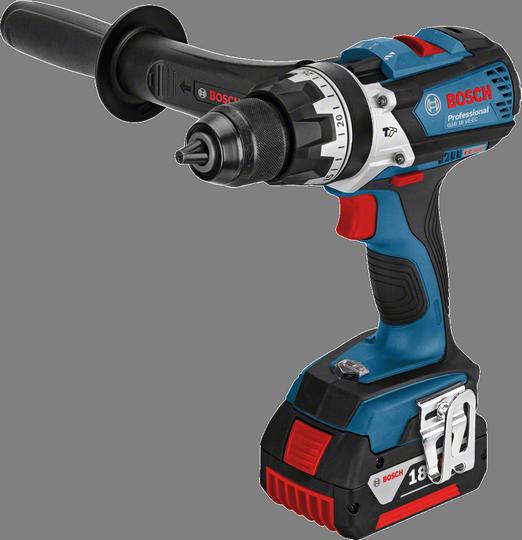 Aku šroubovák s příklepem Bosch GSB 18 VE-EC Professional, 06019F1301