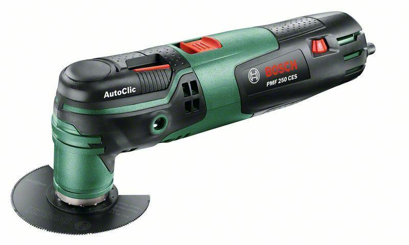 Multifunkční nářadí Bosch PMF 250 CES, kufr, 0603102120