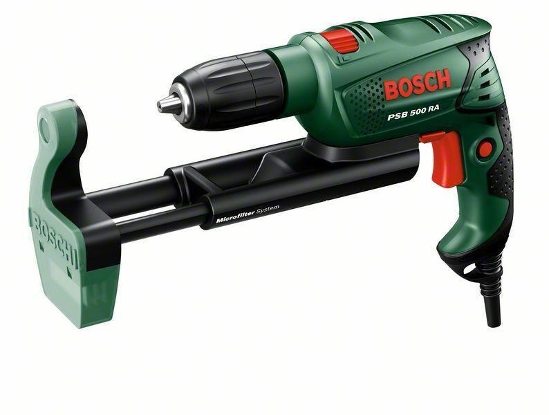 Příklepová vrtačka Bosch PSB 500 RA + kufr, 0603127021