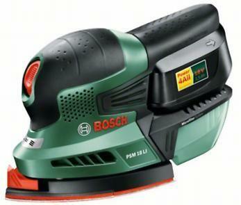 Aku multibruska Bosch PSM 18 LI (baterie, nabíječka), 06033A1320