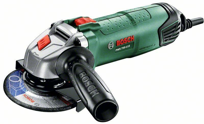 Úhlová bruska Bosch PWS PWS 750-115, 750W, 125mm, 06033A2420