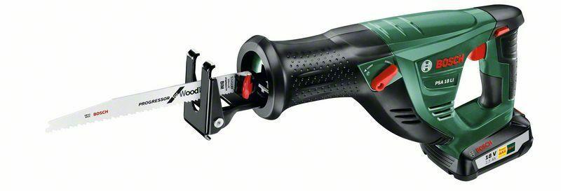 Aku pila ocaska Bosch PSA 18 LI - 1x aku 2,5Ah, čip SYNEON, 18V, 06033B2302