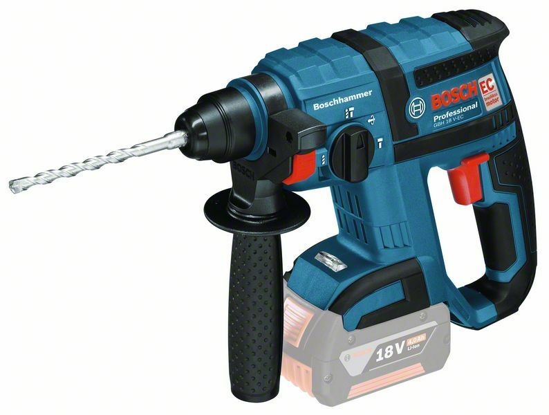 Aku vrtací kladivo Bosch GBH 18 V-EC Professional - bez baterie, 0611904000
