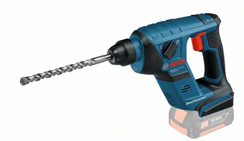 Aku vrtací kladivo Bosch GBH 18 V-LI Compact Professional - bez baterie, 0611905300