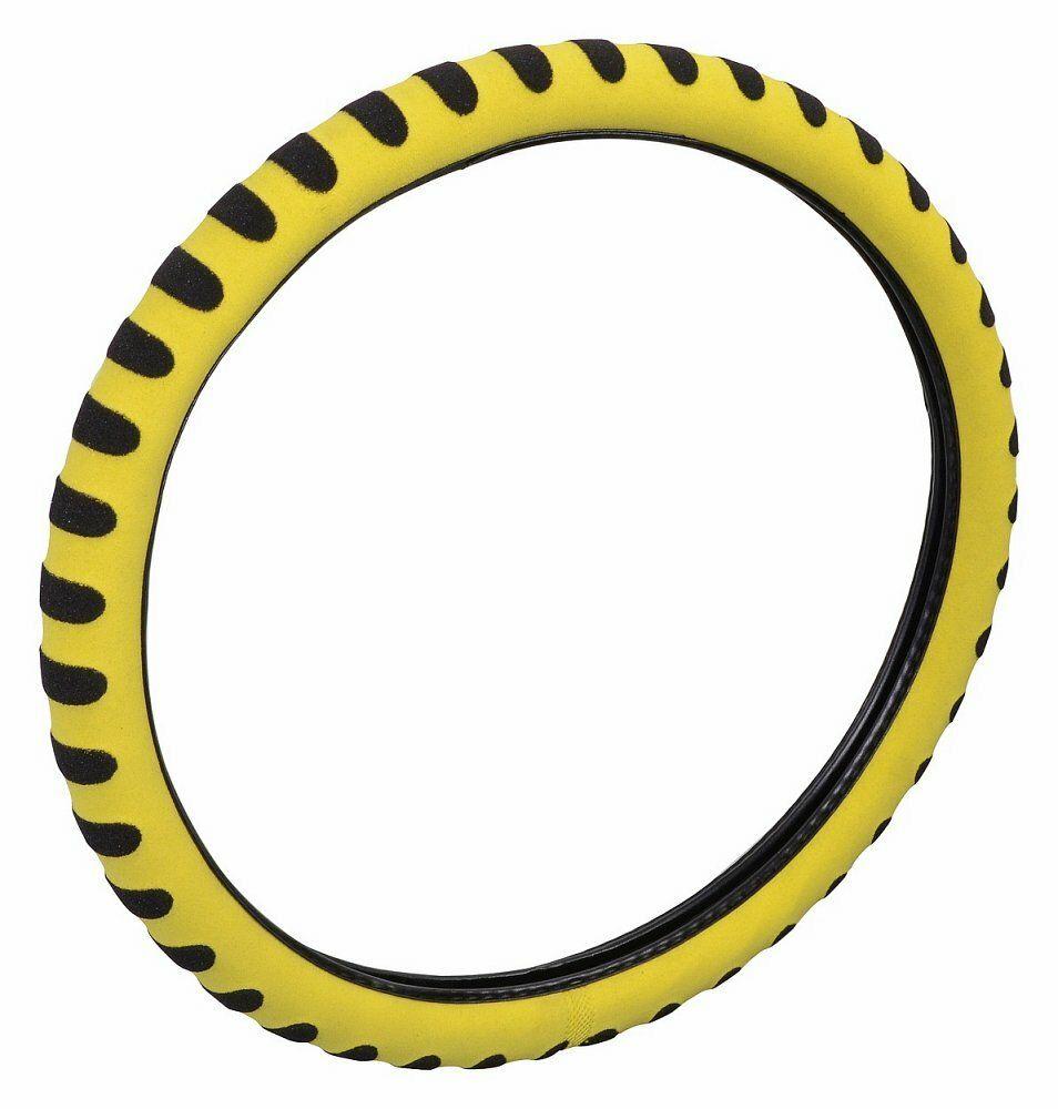 Potah volantu SOFT žlutý, COMPASS