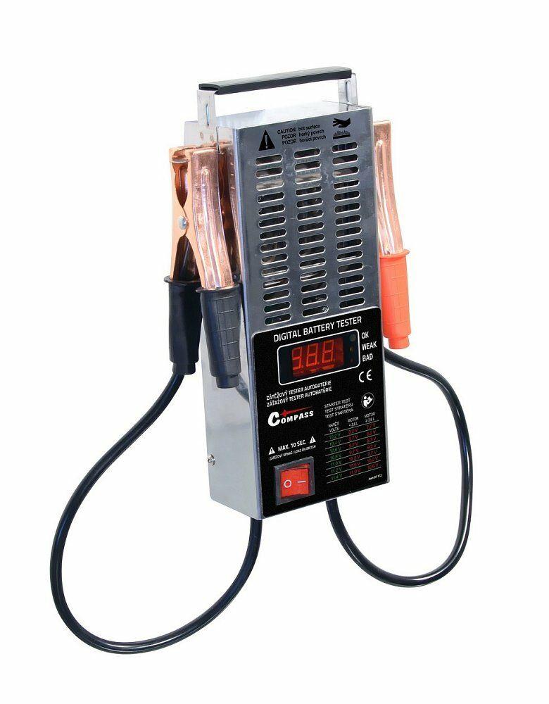 Tester autobaterie zátěžový LED, COMPASS
