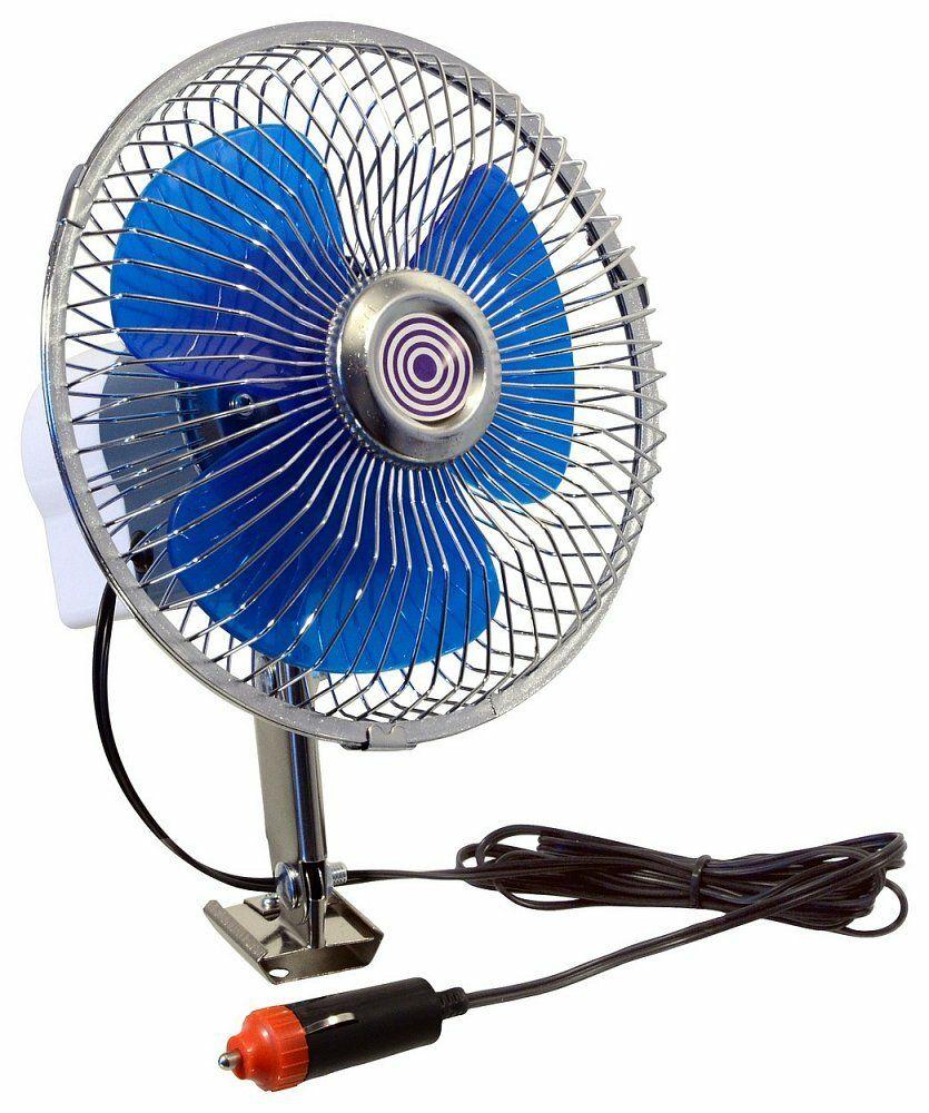 Ventilátor 12V Maxi otočný, COMPASS