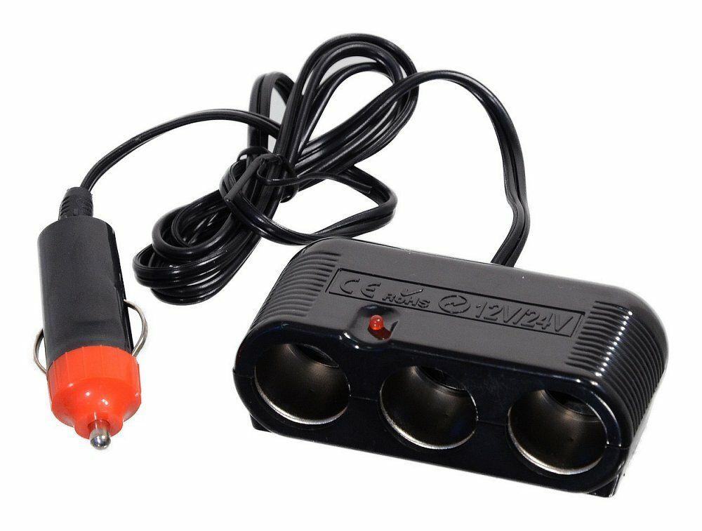 Roztrojka 12/24V s kabelem, COMPASS