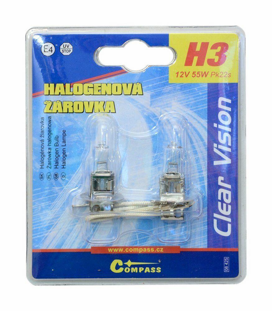 Žárovka 12V H3 55W Pk22s blister 2ks
