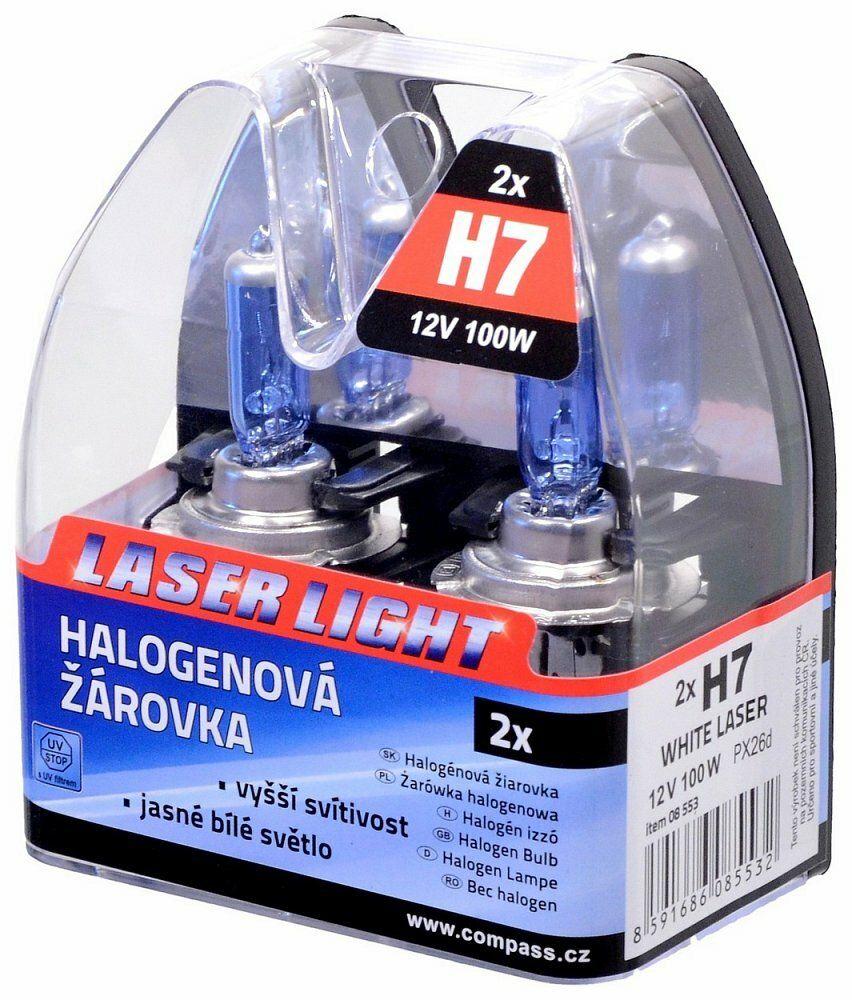 Žárovka 12V H7 100W PX26d WHITE LASER 2ks