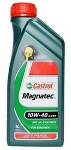 Motorový olej Castrol MAGNATEC 1L 10W40 A3/B4