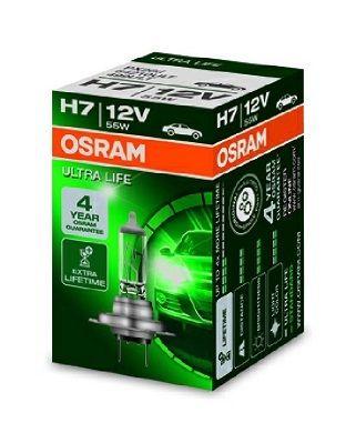 Žárovka OSRAM H7 12V 55 W PX26d, 64210ULT