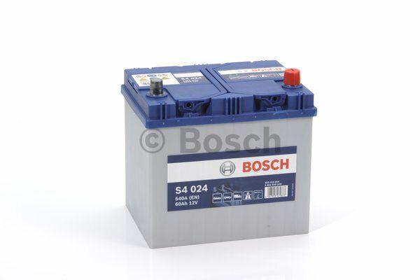 Baterie Bosch S4 12V 60Ah 0092S40240, BOSCH