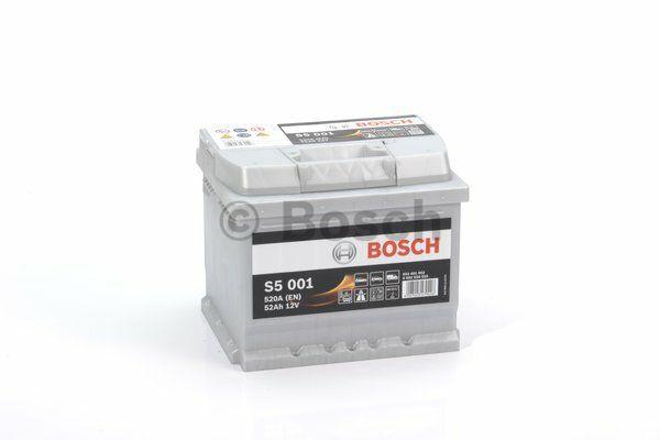 Baterie Bosch S5 12V 52Ah 0092S50010, BOSCH