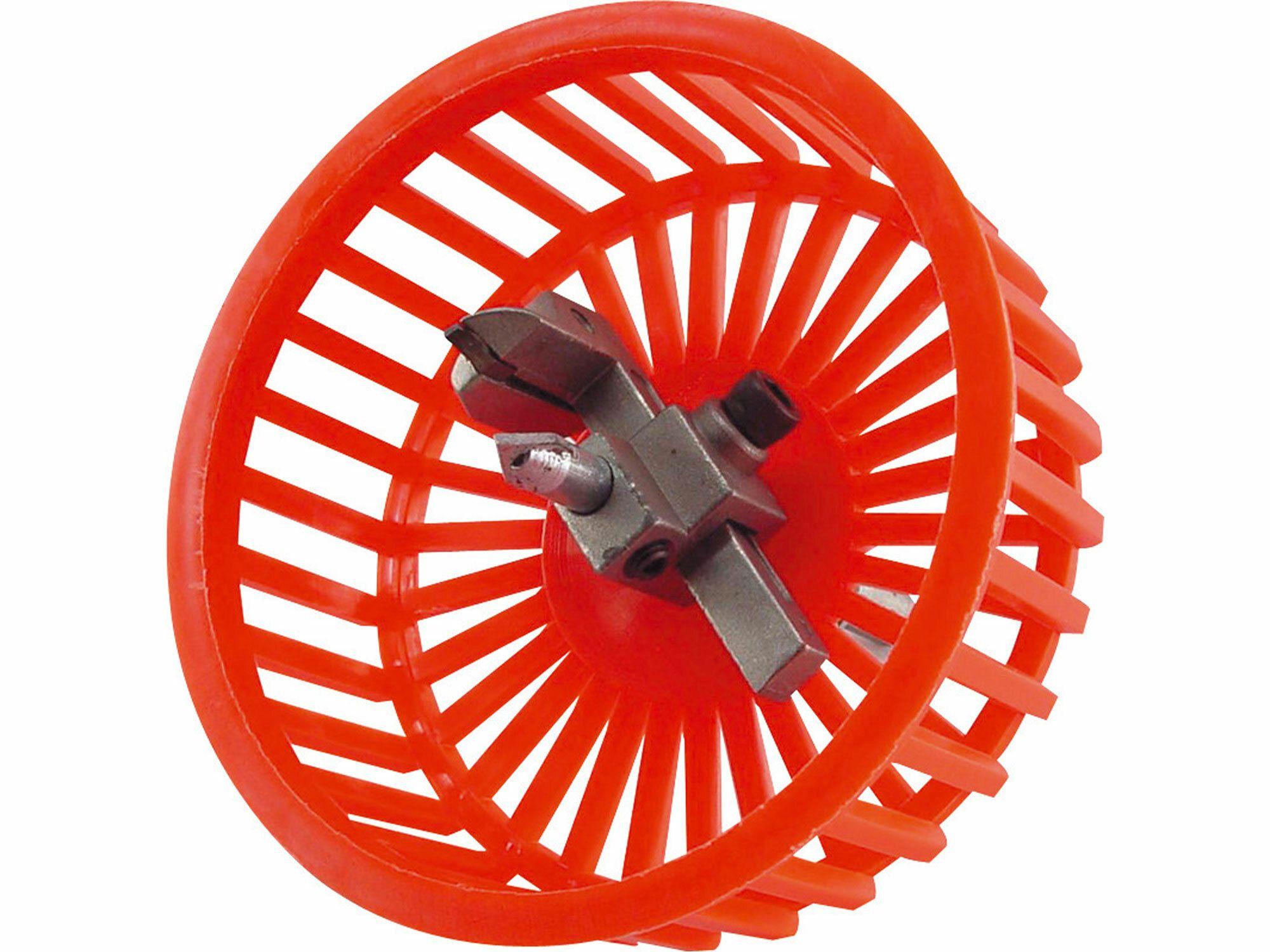 Řezač otvorů do kachliček s krytem, O 20-94mm, uchycení do vrtačky, EXTOL CRAFT
