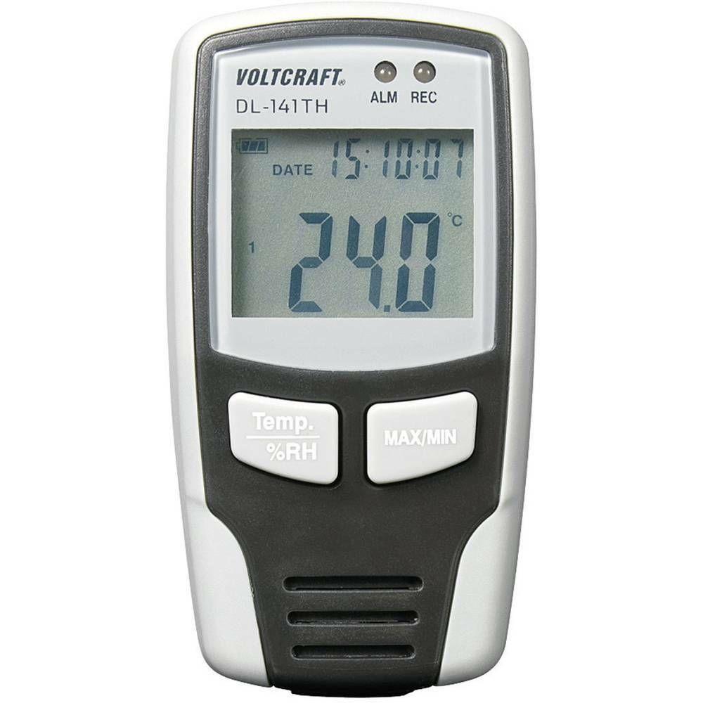 Teplotní/vlhkostní datalogger DL-141TH, -40 až+70 °C