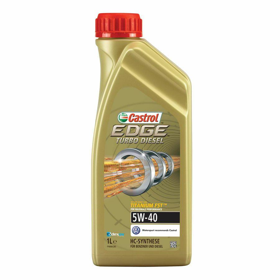 Motorový olej Castrol EDGE 1L 5W40 TITANIUM FST
