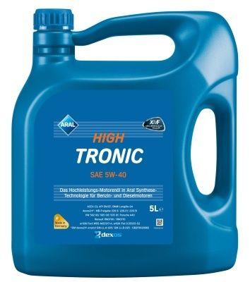 Motorový olej Aral HighTronic 5W40 5L