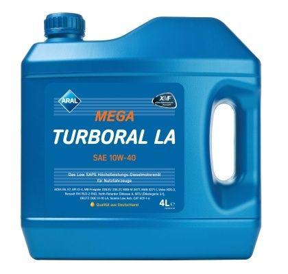 Motorový olej Aral MegaTurboral LA 10W40 4L