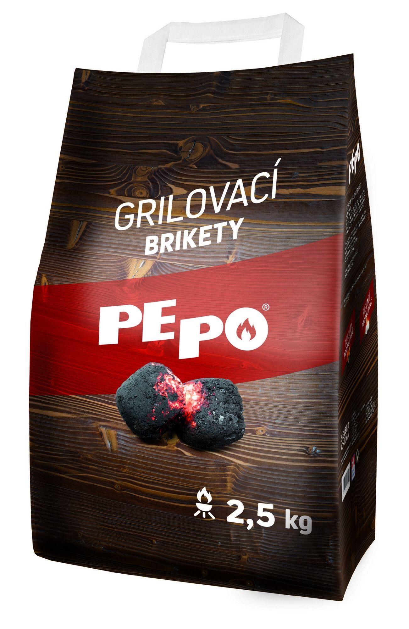 PE-PO grilovací brikety 2,5 kg