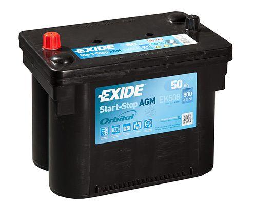 Baterie Exide 12V 50Ah EK508, EXIDE