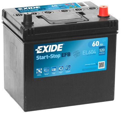 Baterie Exide 12V 60Ah EL604, EXIDE