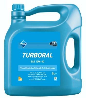 Motorový olej Aral Turboral 15W40 5L
