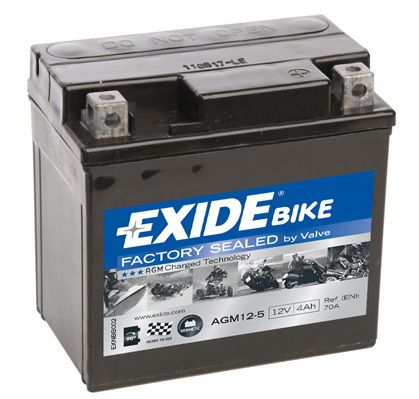 Baterie Exide 12V 4Ah AGM12-5, EXIDE
